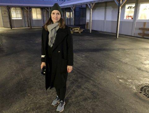 VIL BEVARE BARNEHAGEN: FAU-representant Maria Ekelund mener Knutseskogen barnehage har en så viktig funksjon at den må skånes for budsjettkutt. BEGGE FOTO: BJØRN TORE BRØSKE