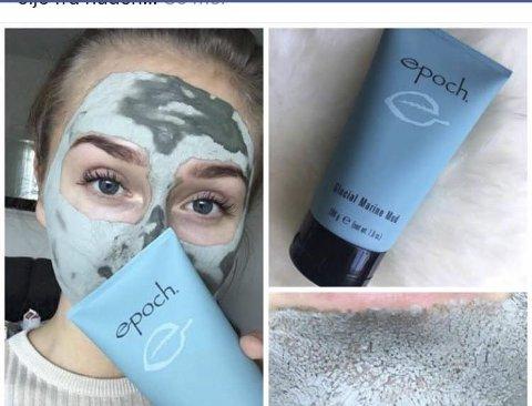 Overveldende respons: Eline Kartfjord (19) gjør stor suksess med sin nye Facebook-gruppe «BeBeauty by Eline» hvor hun selger sminke og velværeprodukter. Bilde: Skjermdump