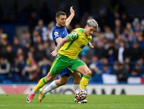 STORTAP: Mathias Normann og Norwich fikk det som ventet tøft mot Chelsea.