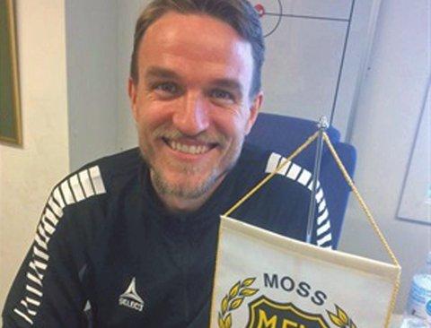 NY KLUBB: Morten Giæver blir spillende assistenttrener i den tradisjonsrike klubben Moss FK, som ble norsk seriemester i 1987. Nå spiller klubben på nivå fire.