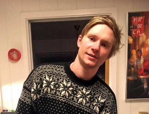 OMKOM: Olaf Skarbakk Bjørkeng (22) fra Øverbygd. Bildet er publisert i samråd med familien.