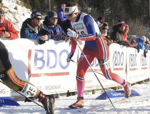 Heldiggris: Barbro Kvåle gikk videre fra både kvart- og semifinalen som «lucky looser», og endte til slutt på femteplass.