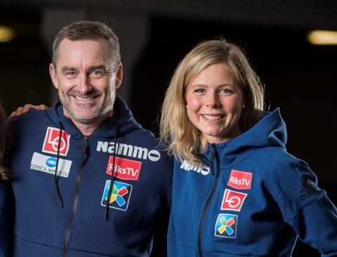 NÆRE: Hopplandslagets Clas Brede Bråthen er full av beundring for Maren Lundby og det vanskelige valget om å gi opp OL-sesongen framfor å gå på akkord med helsa.