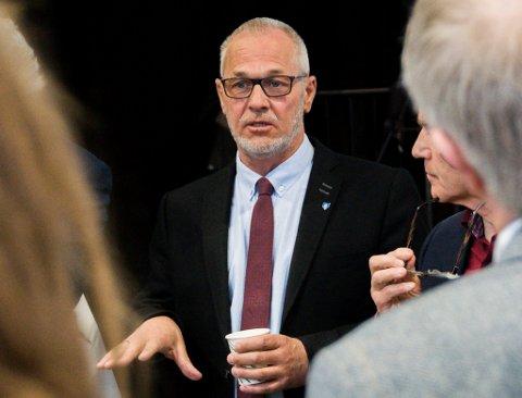 STØTTER PORSGRUNN: Ordfører Rune Høiseth og kollegene i Horten, Tønsberg og Sandefjord er imot planene om et deponi for farlig avfall i Brevik.