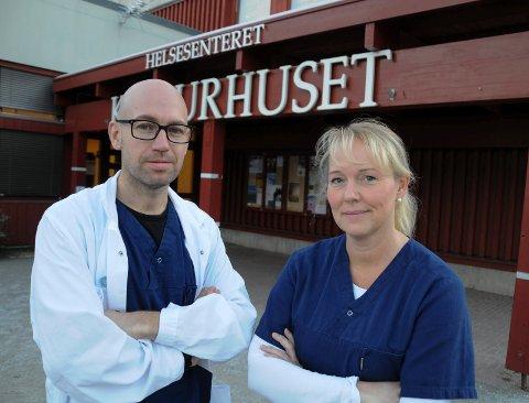 HØRINGSSVAR:  Tor Halvor Bjørstad-Tuveng og Marte Kvittum Tangen er tillitsvalgt og hovedtillitsvalgt i Den Norske Legeforening.