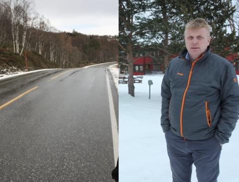 VEIJOBB: HR Entreprenør, ved daglig leder Per Martin Rønningen, har undertegnet kontrakt om å oppgradere fv.31 mellom Røros og svenskegrensen.