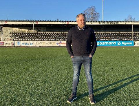SPESIELT ÅR: Ole Anders Arntsen kom inn som daglig leder i korona-året 2020. Foto: Wenche Norberg-Schulz