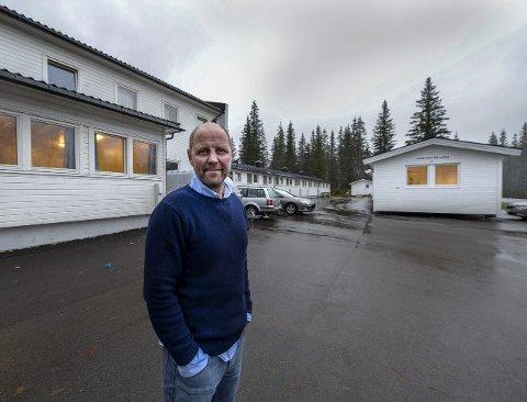 Mottaksleder Lars Petter Falch Larsen ved Skillevollen mottak for enslige mindreårige. Arkivfoto.