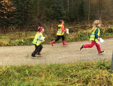 Hele skolen deltok på Ytteren-løpet.