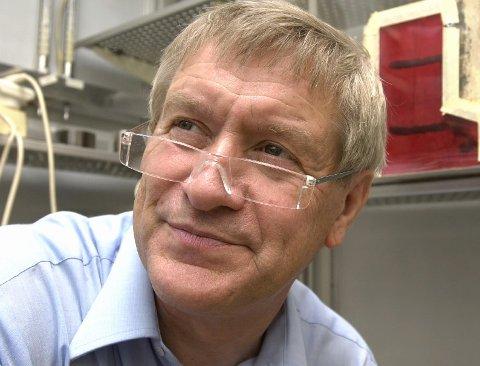 Insekt- forsker: Den pensjonerte biologen, zoologen og entomologen Reidar Mehl er spesialist på insekter og skadedyr.