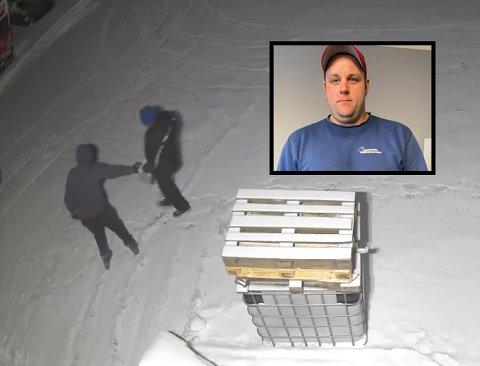 TATT PÅ FERSKEN: Glenn Thomas Aasheim sørget for at tyvene ikke kom langt. (Foto: Privat)