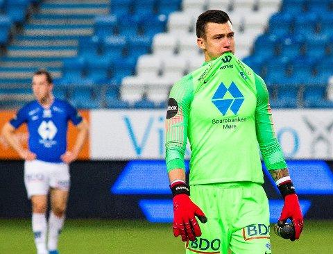 KOMMER PÅ LÅN?: Alex Craninx kan bli LSK-spiller på utlån fra Molde.