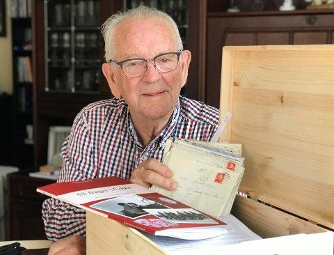 TØFFE TAK: Kåre Reidar Andersen opplevde både krig, kjærlighet, sorg og hjemlengsel da han ble tvangsendt til Gaza.