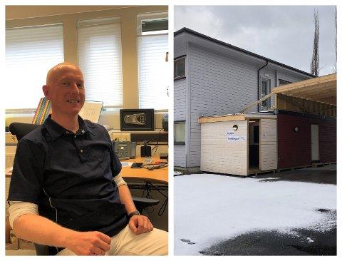 OPNA: Fungerande kommuneoverlege i Luster i påska, Bård Flattun Lilleeng, måtte opna koronateststasjonen ekstra på skjærtorsdag.