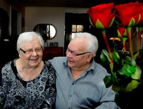 GODT LIV: Ekteparet legger ikke skjul på at de fremdeles er svært glad i hverandre og understreker at de har hatt et veldig godt liv.