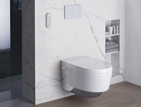 ENKLERE: – God kvalitet på for eksempel sanitærprodukter betyr ofte at vedlikehold og daglig renhold blir enklere.