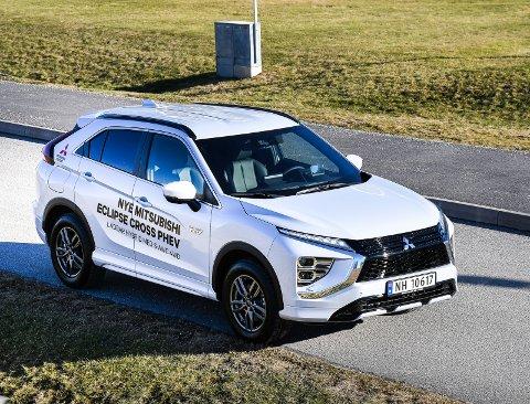 ARVTAKEREN: Nye Mitsubishi Eclipse Cross PHEV skal fortsette i hjulsporene etter megasuksessen Outlander.foto: Fredrik strøm