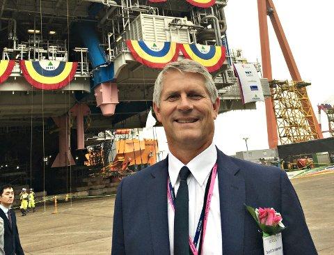 Torolf Lund Christensen har ledet flere av de største utbyggingene i Norskehavet og er en av veteranene i det norske oljeeventyret. – Jeg er stolt og ydmyk over å være en del av denne fortellingen, sier Christensen.