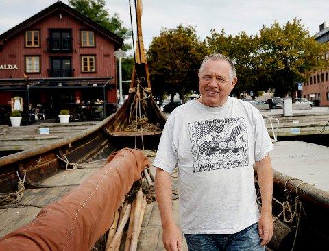 VIKINGFESTIVALEN: Så langt er alt i rute for årets vikingfestival i tønsberg, opplyser festivalsjef Ole Harald Flåten