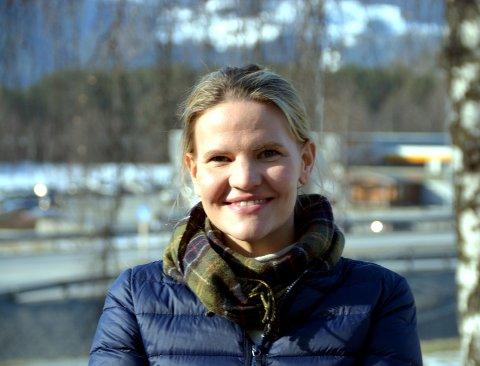 Ny leder: Etter påske tar Marta Bjørnøy Lalim (31) over som daglig leder på Frivilligsentralen.