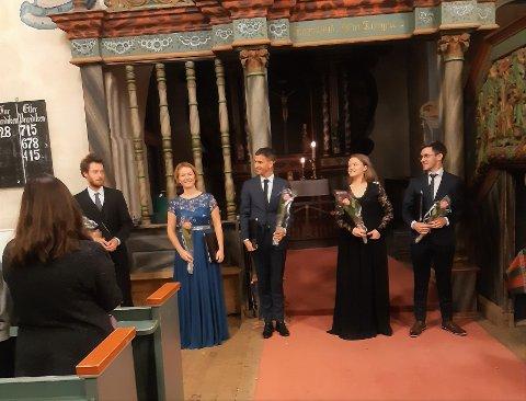 Early Voices: Gruppa hadde konsert i Slidredomen i september, der dei trollbatt publikum med Bach og norske folketonar. No kjem dei tilbake.