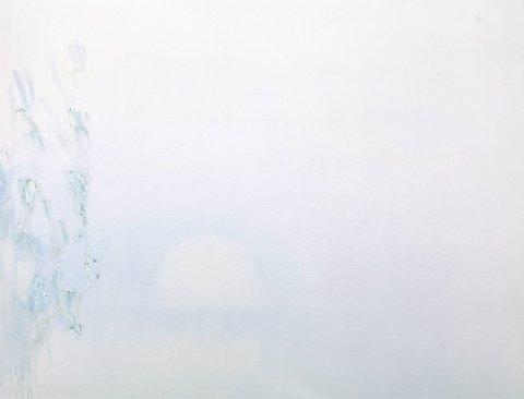 """""""Junikveld"""" heter dette Kåre Tveter-bildet som ble solgt for 120.000 kroner denne uken."""