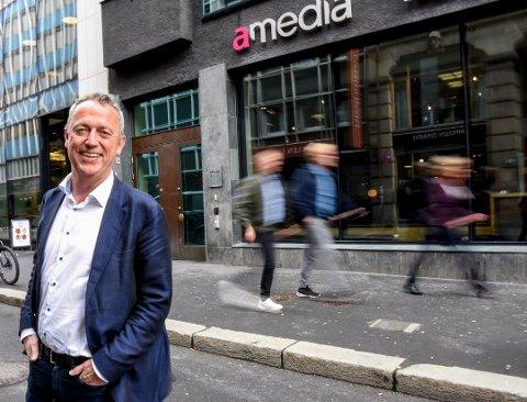 VELGER Å TRE TIL SIDE: Are Stokstad gir seg som toppsjef for Amedia. Foto: Terje Svendsen