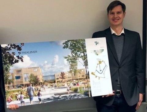 SJEF: Erlend Wegger er daglig leder i WK Entreprenør.