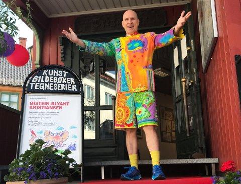 Fredag kommer Kristiansen, kjent fra Øisteins blyant, til Drøbak. Da han under Kulturisten på Nesodden for to år siden holdt tre show, ble alle utsolgt. I Drøbak holder han et show fredag.