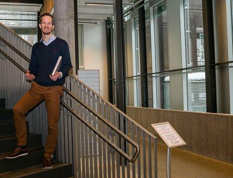 VIL HA NY TILTAKSPAKKE: Eivind Hoff-Elimari, ordfører i Nesodden kommune, vil at Nesodden skal gå over til tiltaksnivå 5C.