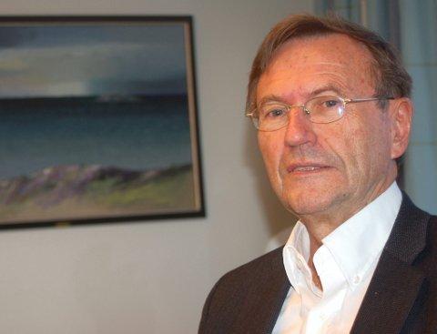 Jarle Aarbakke, leder i Tromsø-områdets regionråd.