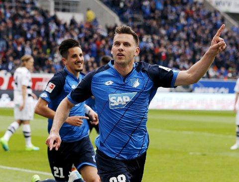 Hoffenheim og Adam Szalai liker seg ikke i Köln.