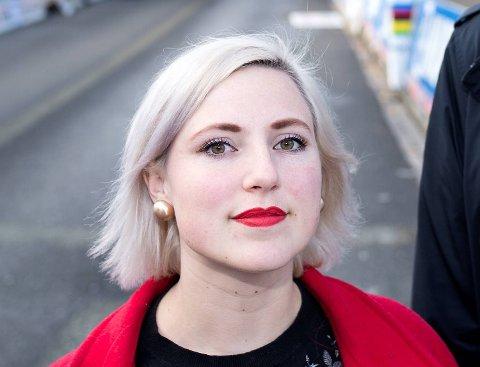 Sofie Marhaug er innstilt som listetopp for Bergen Rødt til neste års kommunevalg.