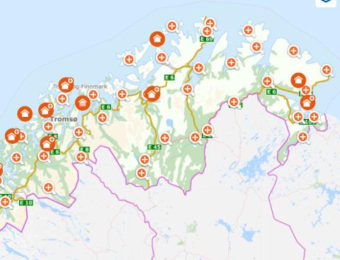 EIERSKIFTE: Fem eiendommer er solgt og kjøpt i Nordkapp og Lebesby kommune.