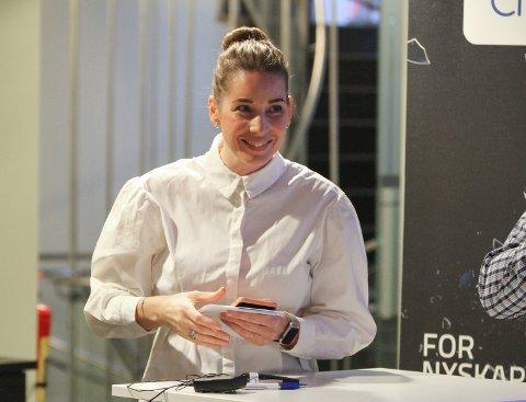LEIAR: Maren Avsnes Klakegg kom inn i selskapet i 2014 og jobbar med logistikk. No vert ho plassjef på Neptune Energy sin base i Florø.