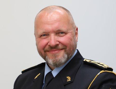 UP-SJEF: Politiinspektør Terje Oksnes er sjef for Utrykningspolitiet i Vestland.