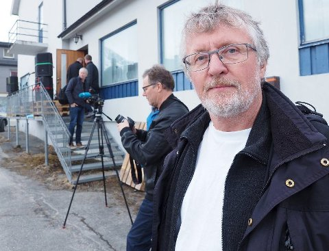 Har håp: John Gunnar Skogvoll (SV) håper på godt nytt om delingen av Tysfjord allerede etter neste møte mellom Narvik, Ballangen, Tysfjord og Hamarøy kommuner. Foto: Terje Næsje