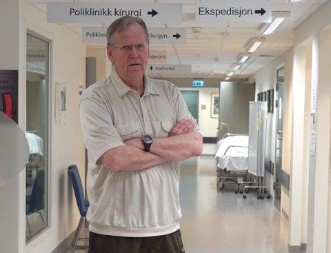 PROVOSERT: Jostein Pedersen var en av de som måtte gå av Pasientekspressen.