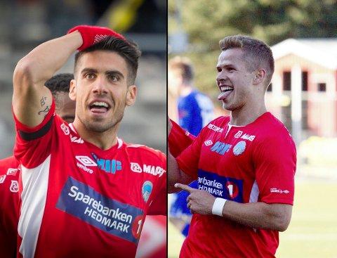 Maikel Nieves (t.v.) og Bajram Ajeti er klare for Luis Pimentas Brommapojkarna.