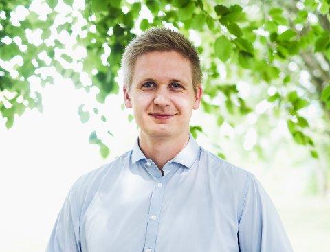 UNGDOMSKANDIDAT: Gard Løken Frøvoll sikter mot fylkestinget.
