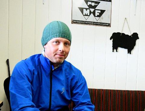 Trond Klaape, fylkesleder i Oppland Bonde- og Småbrukerlag.