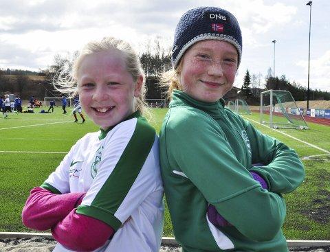Duo: Mia Myrvang fra Harestua og Niki Ahtola fra Grua skal denne sesongen spille på lag. Det mener de motstanderne kommer til å merke.