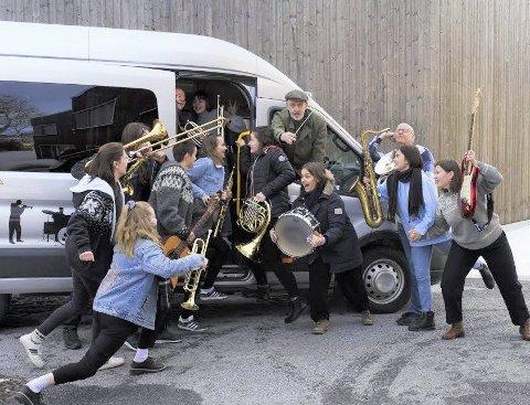 TETT PROGRAM: Toneheim-elevene skal igjennom flere konserter de neste to månedene.