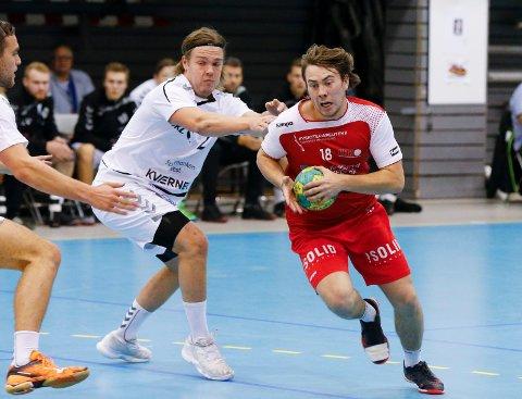 GIR SEG I HHK: Jon Robertsen skal spille for Kristiansand kommende esesong.
