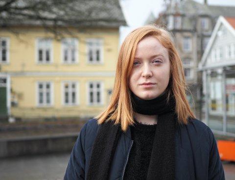 DROPPES: På en dårlig dag ble Ingvild Haugland Pettersen (24) negativt påvirket uansett hva hun spiste. 24-åringen var tappet for energi, og hadde enkelte dager mest lyst til å holde senga.Forskningsprosjektet ble redningen. Nå får ikke prosjektet videre støtte.