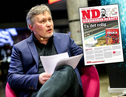 POLITIANMELDT: På bakgrunn av joikakakeytringen til politisk redaktør, Skjalg Fjellheim, har nå ansvarlig redaktør i Nordlys, Helge Nitteberg, blitt politianmeldt av Hans Petersen.