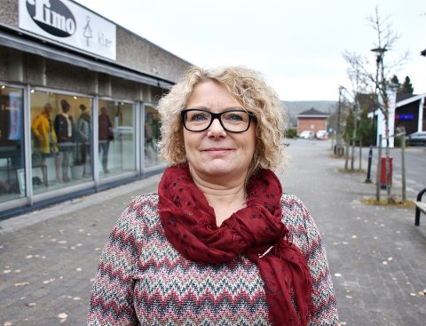 Butikksjef: Irene Nøkelby fra Løken hadde alltid drømt om å drive egen butikk. Da hun fikk muligheten på Bjørkelangen tok hun sjansen.