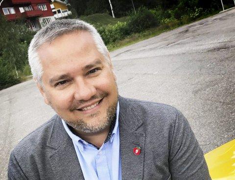 ORDFØRER? Jan Fredrik Vogt, Fremskrittspartiet.