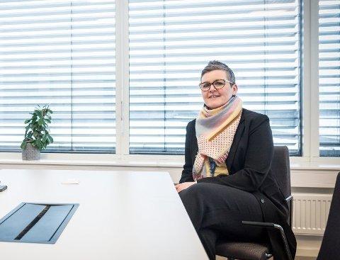 OPPRETTER NYTT TILBUD: Kommunaldirektør Gunnhild Grimstad-Kirkeby håper at Ullensakers nye mentalhelsetilbud er på beina til sommeren.
