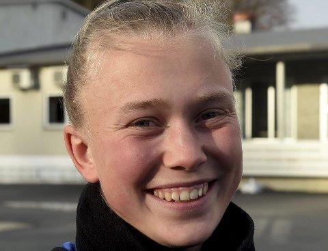 A-LAGSDEBUT: Emilie Bølviken fikk endelig sin debut på Lyns A-lag.